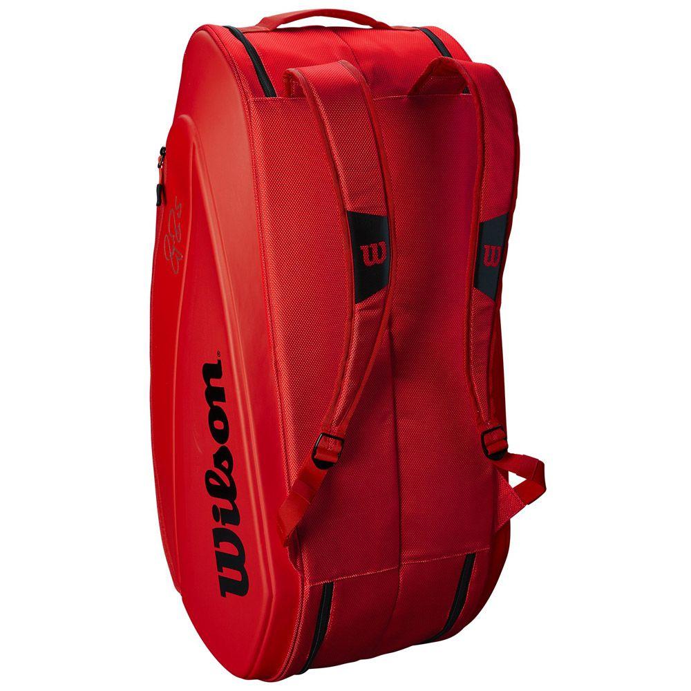 b20c60a70ff0a Wilson - Federer DNA 12 Pack Tennis bag infrared at Sport Bittl Shop