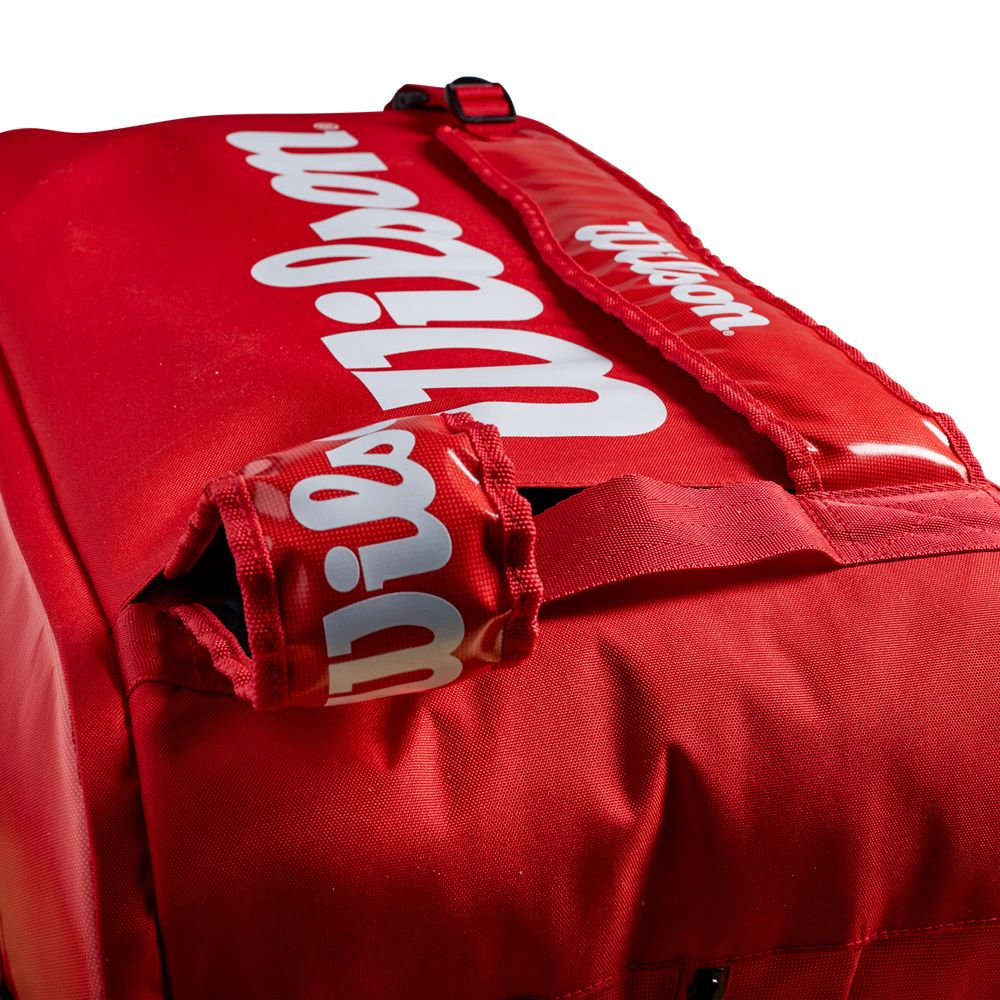 Wilson Super Tour 3 Comp Tennis Bag red