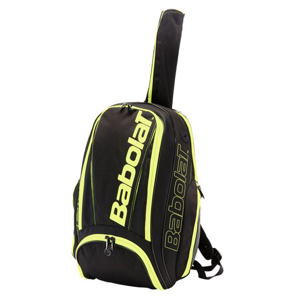 babolat pure line backpack black yellow at sport bittl shop
