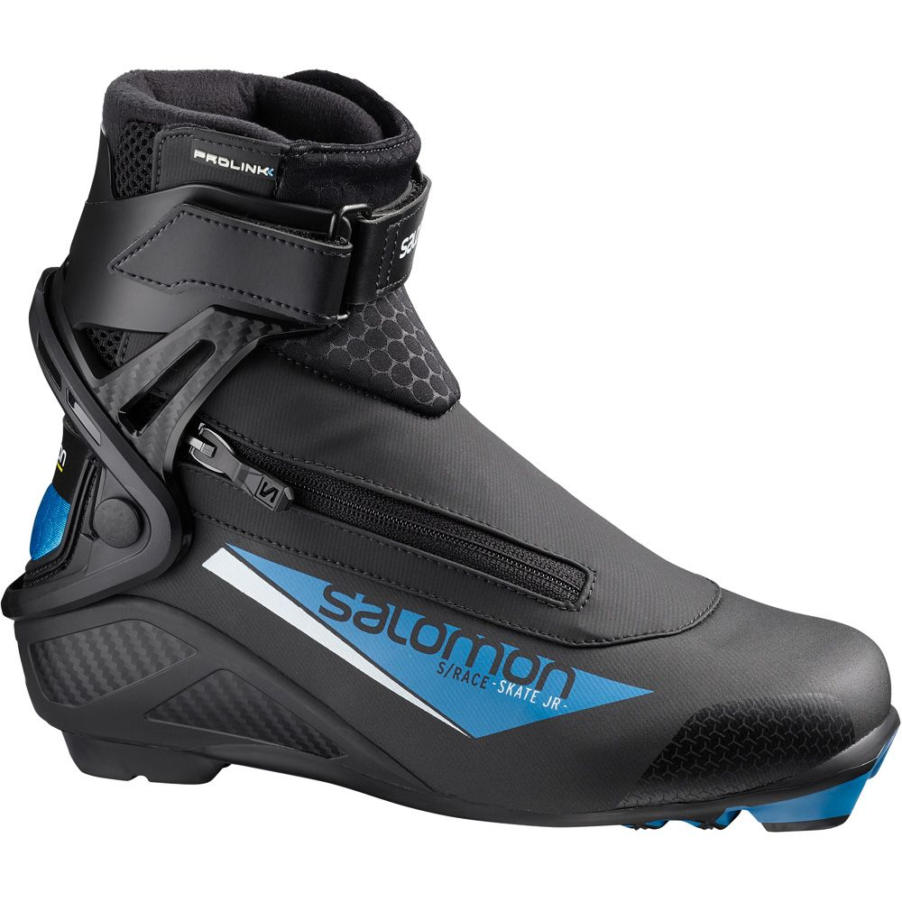 Salomon S Race Skate Prolink Junior schwarz blau