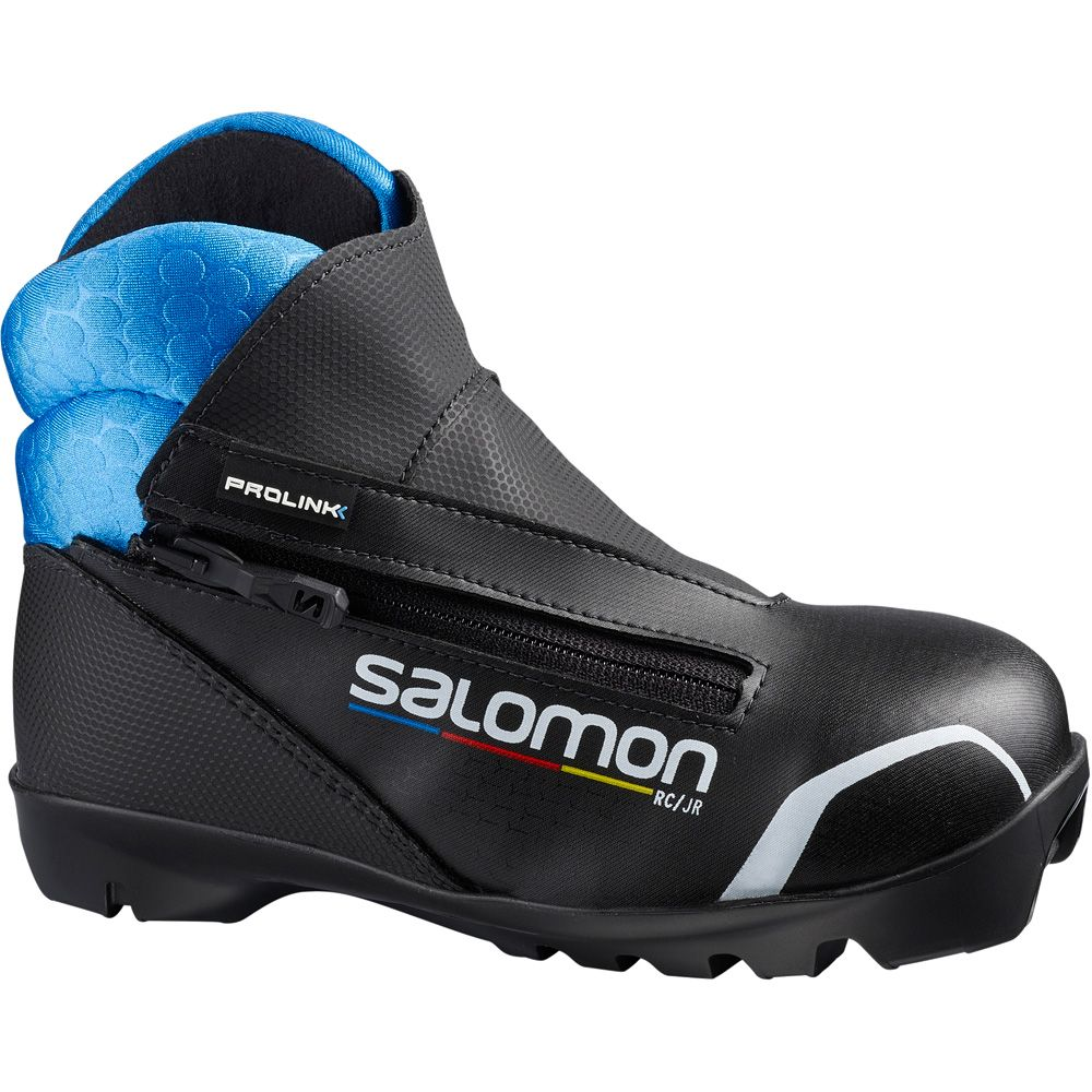 Salomon RC Junior Prolink schwarz blau
