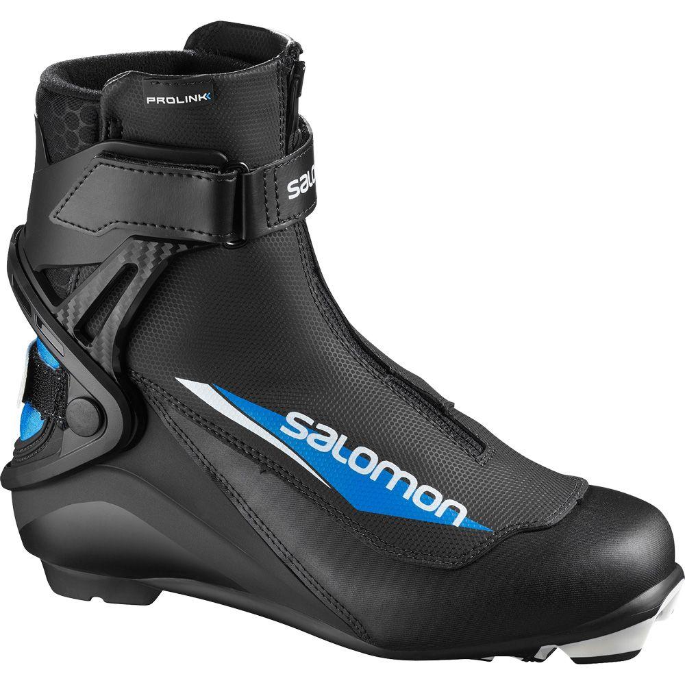 Salomon S Race Skate Prolink Junior black blue