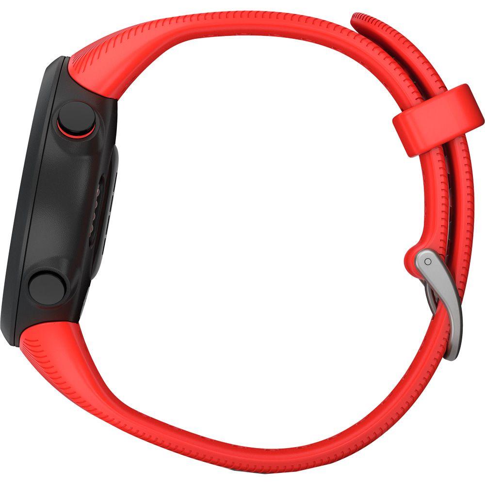 Forerunner 45 black lava red