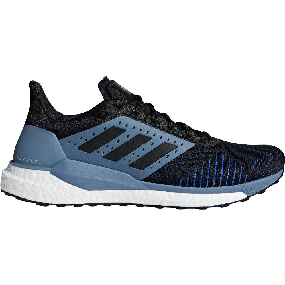 differently 0d8f7 a279d adidas Solar Glide ST Running Shoes Men raw steel core black hi-res blue
