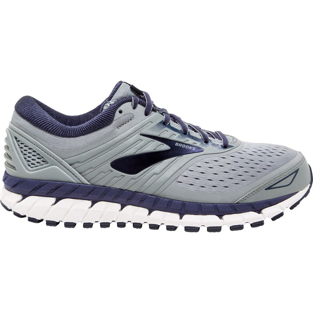 c0db431f75445 Brooks Beast 18 Running Shoes Men Grey Navy White At Sport Bittl