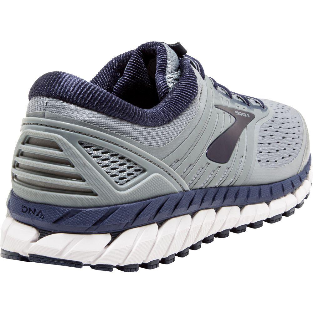 9e465395f90d8 Brooks - Beast 18 Running Shoes Men grey navy white at Sport Bittl Shop