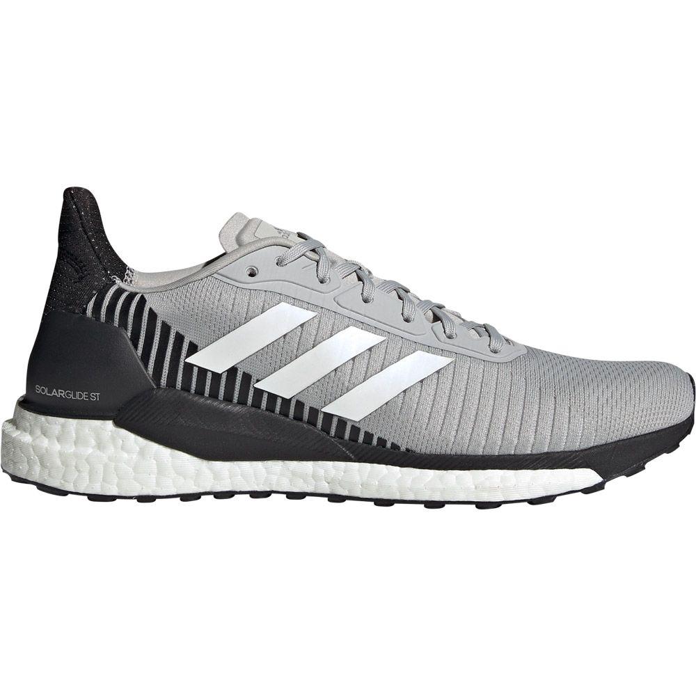 adidas Solar Glide ST 19 Running Shoes Men grey two footwear white solar orange