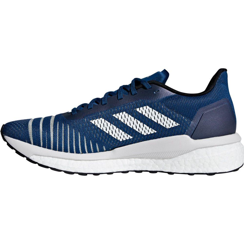 Neue Adidas Solar Drive Blau Weiß Schwarz Schuhe Herren