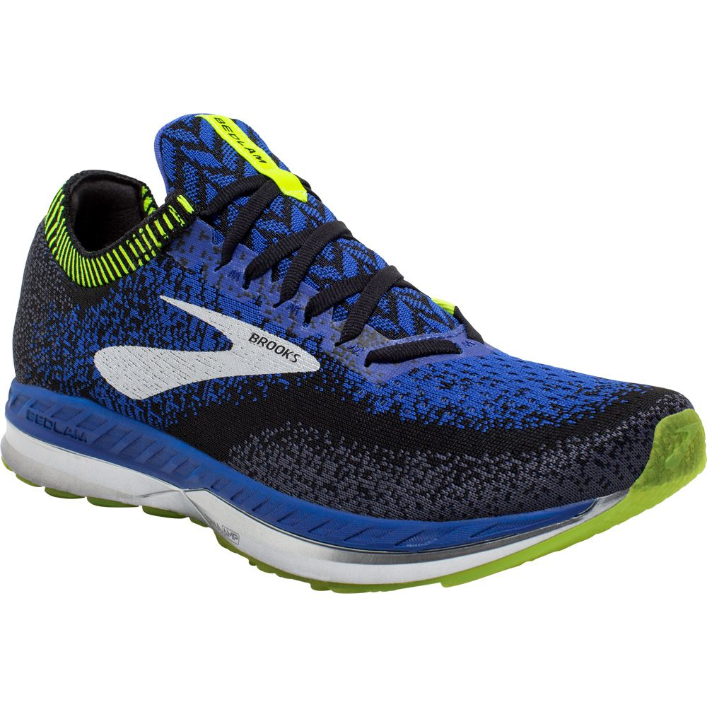 Blue Brooks Bedlam Mens Running Shoes