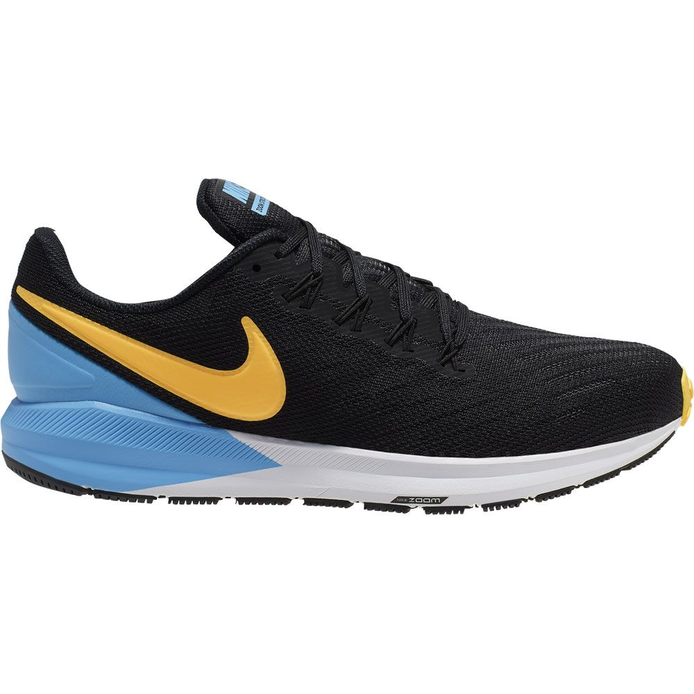 Nike Air Zoom Structure 22 Running Shoe Men black laser orange university