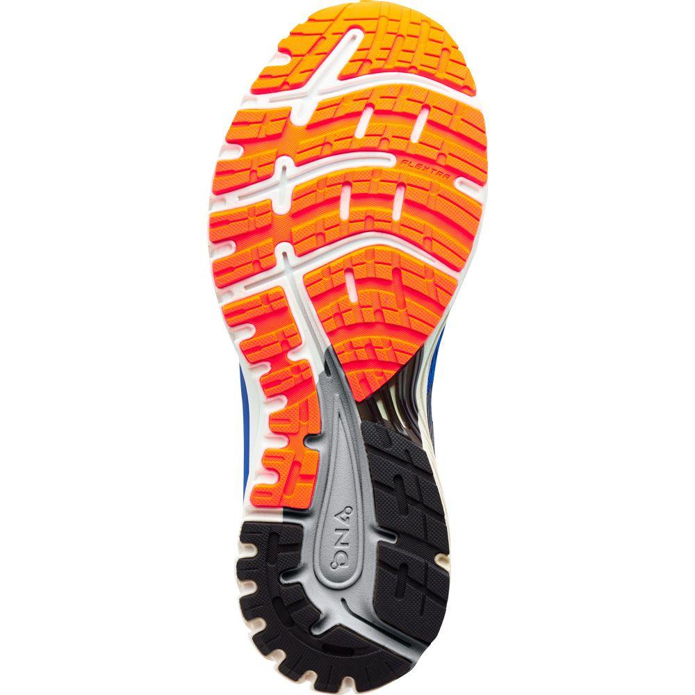 5942166a1d Brooks - Adrenaline GTS 18 Laufschuhe Herren blau schwarz orange ...