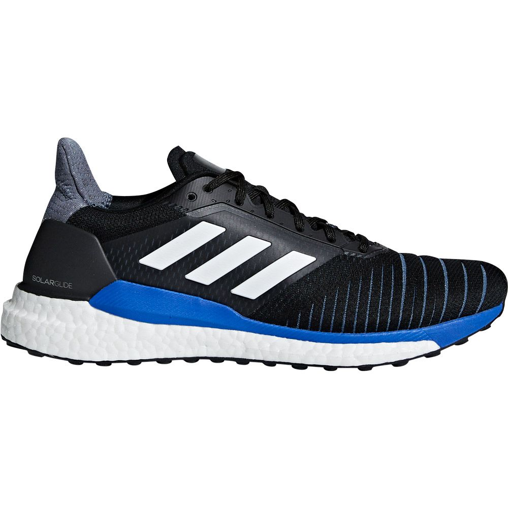 competitive price b6f7a 658a0 adidas Solar Glide Running Shoes Men core black ftwr white hi-res blue