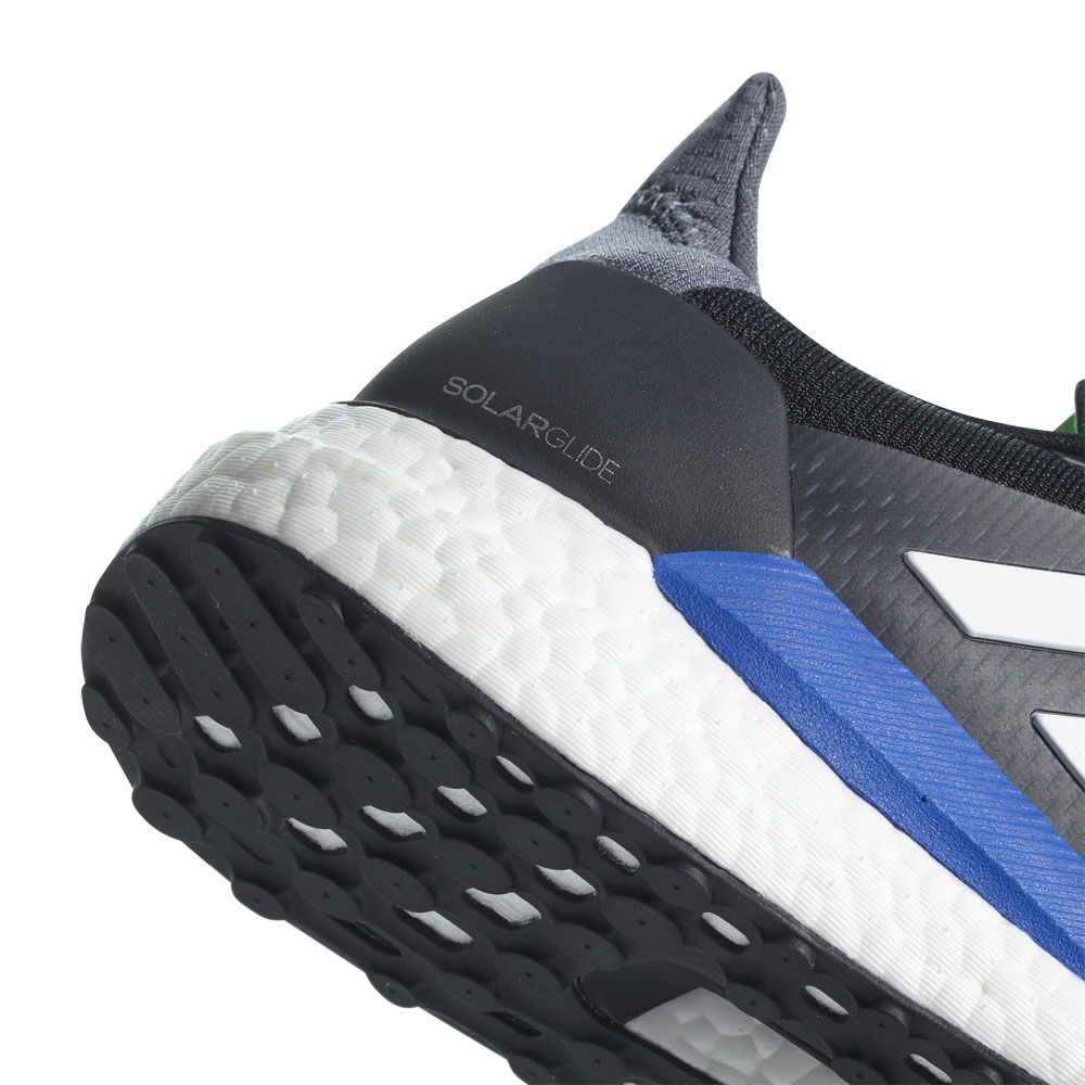 new style 4f729 6a508 adidas solar glide black paint