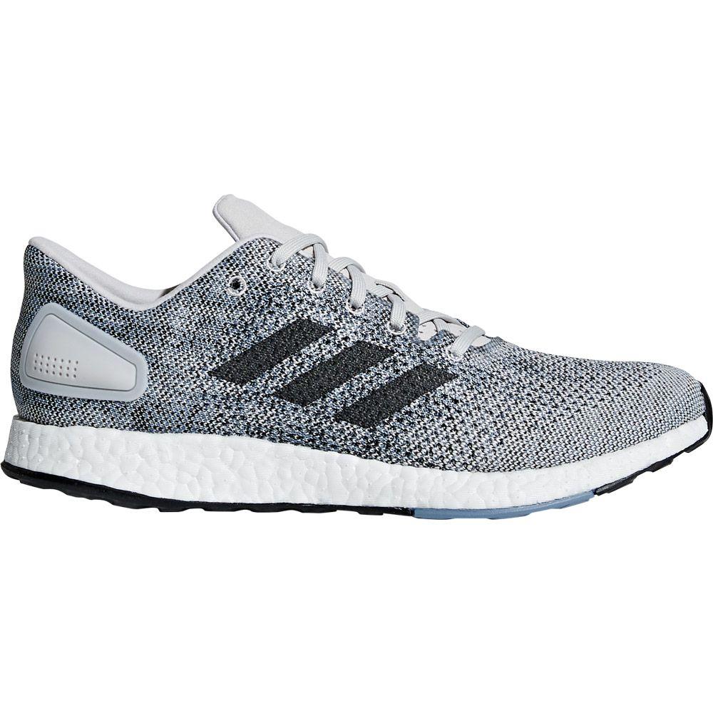 adidas - Pureboost DPR Running Shoes grey one footwear white raw ... c38d8ee05