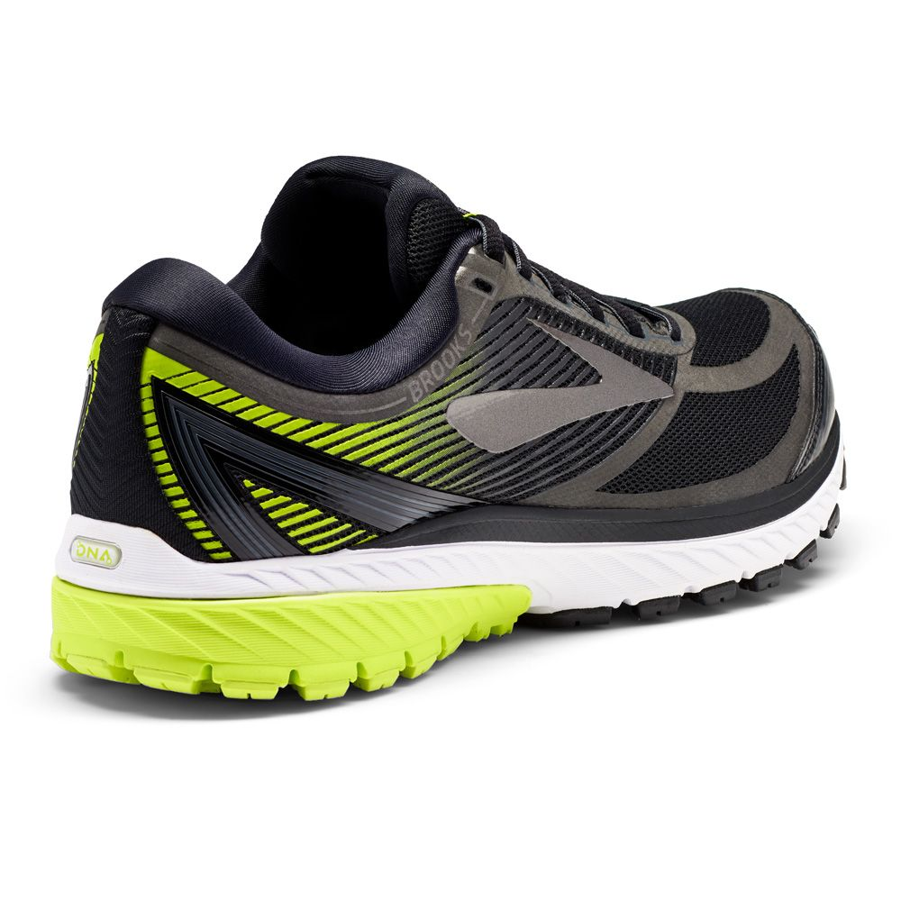09d06795c8504 Brooks - Ghost 10 GTX running shoe men black ebony lime popsicle at ...
