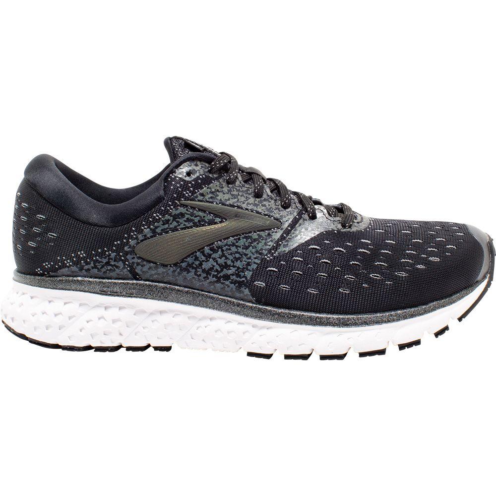 6e84c841e76 Brooks - Glycerin 16 Reflective Running Shoes Men black white grey ...