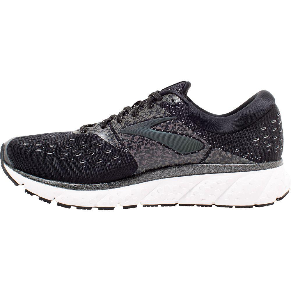 Running Shoes Men black white grey