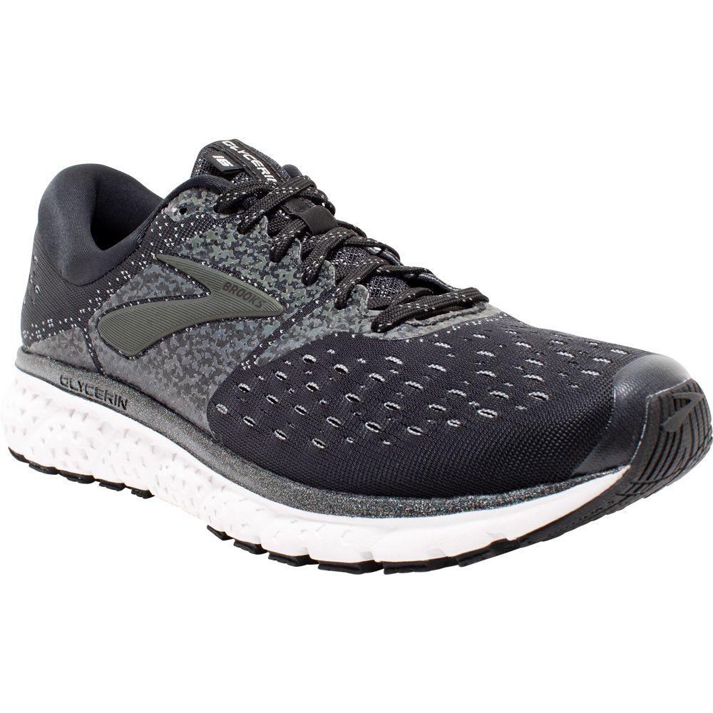 e25d0486722 Brooks - Glycerin 16 Reflective Running Shoes Men black white grey ...