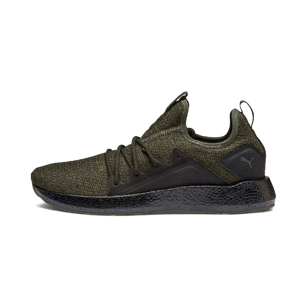 Puma - NRGY Neko Knit Running Shoes Men forest night puma black at ... e92762b84