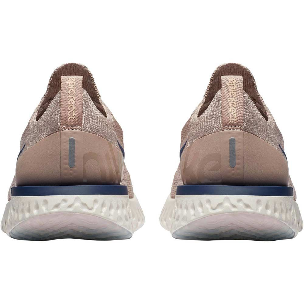 Nike Epic React Flyknit Running Shoes Men diffused taupe blue void