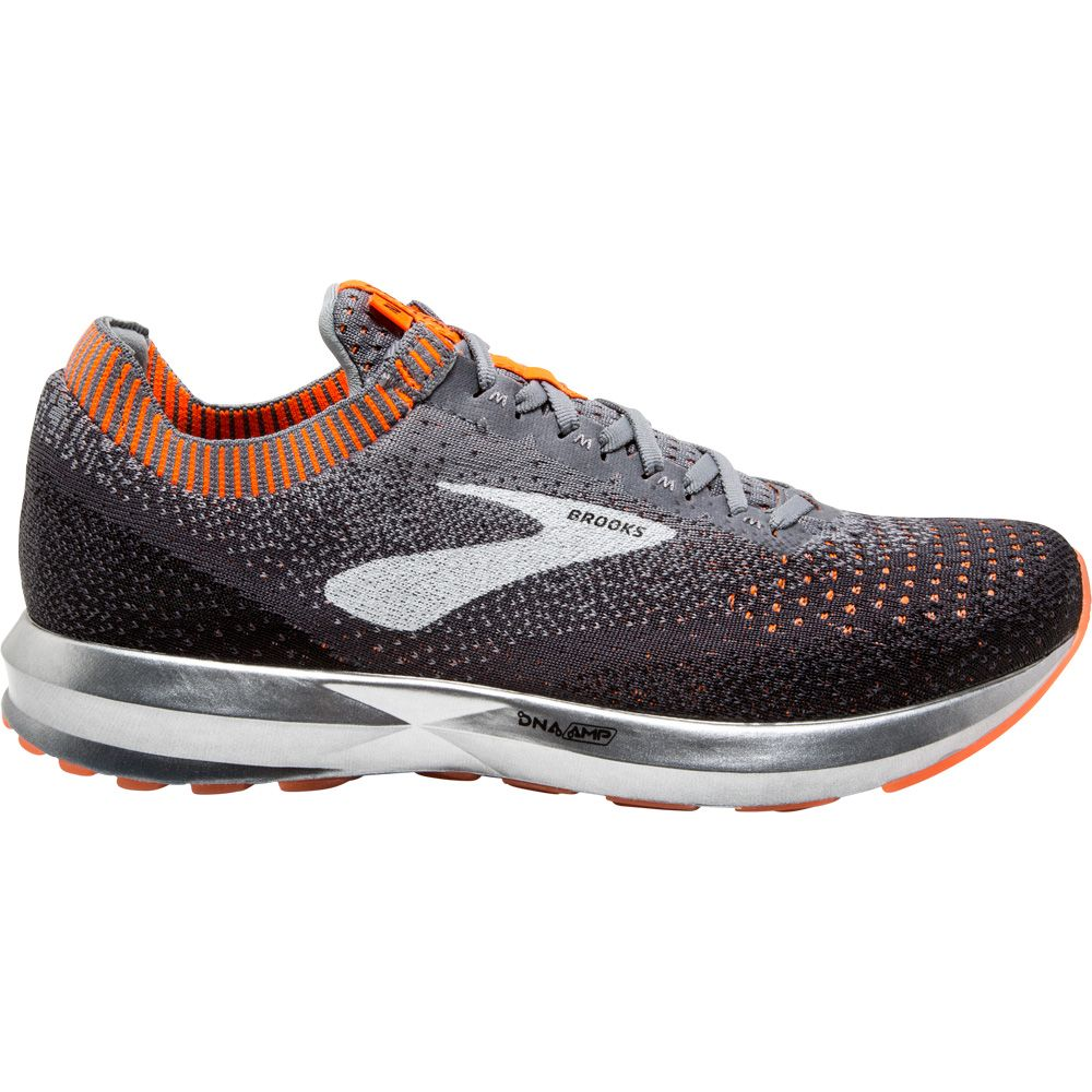 af6a72e22c987 Brooks - Levitate 2 Running Shoes Men grey black orange at Sport ...