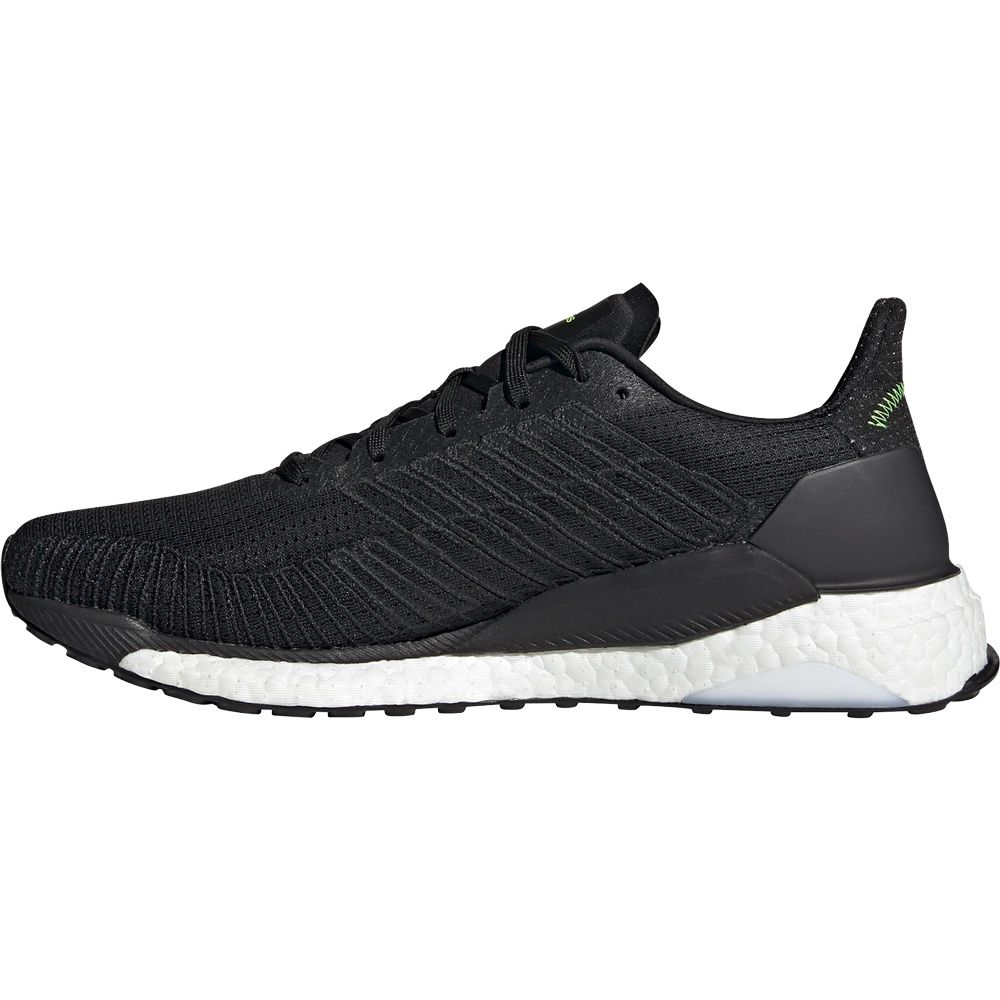 cebra Luminancia cristiano  adidas - Solarboost 19 Running Shoes Men core black footwear white signal  green at Sport Bittl Shop