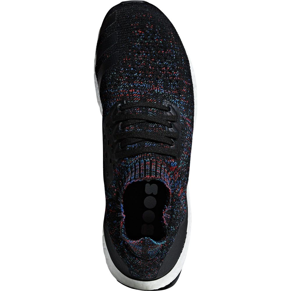 adidas UltraBoost Uncaged Running Shoes Men core black active red blue