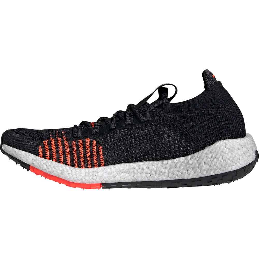 adidas PulseBoost HD Running Shoes Men core black grey five solar red