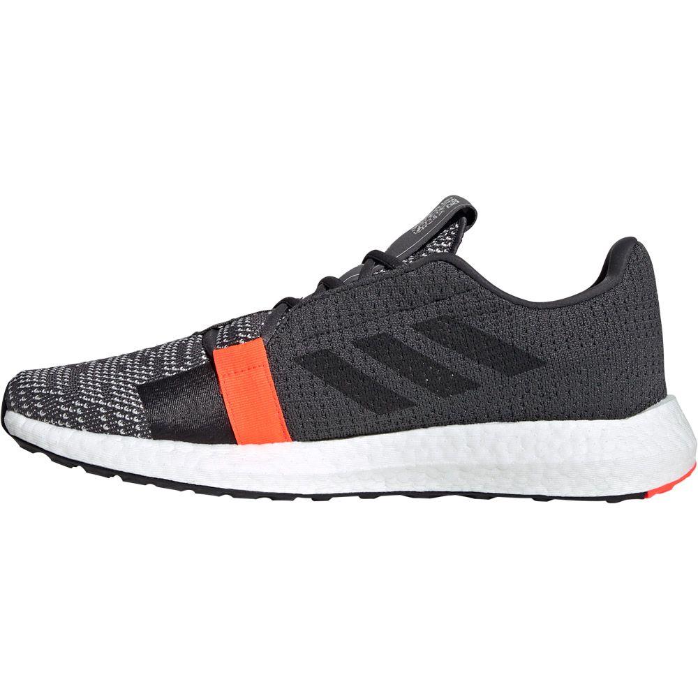 adidas Senseboost Go Shoes Men grey six core black solar red