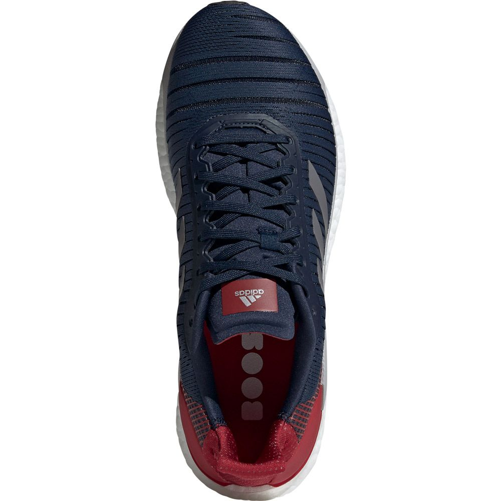 adidas Solar Glide 19 Running Shoes Men collegiate navy grey five active maroon
