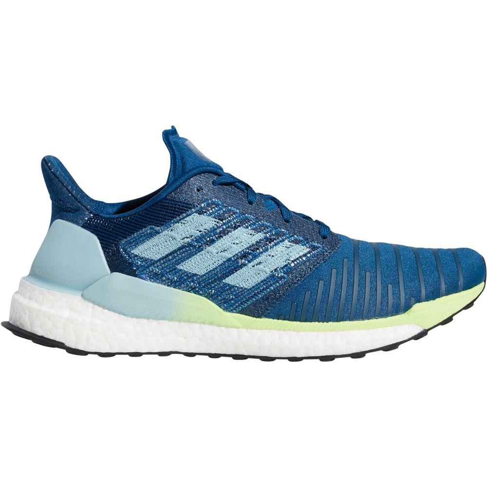 a89d3c8f2 adidas Solar Boost Running Shoes Men legend marine ash grey hi-res yellow
