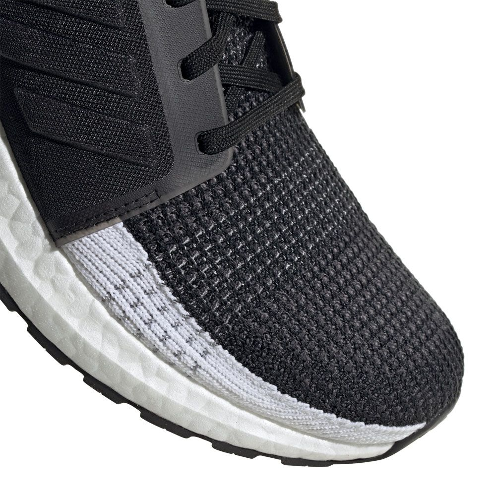 adidas UltraBoost 19 Running Shoes Men core black grey six