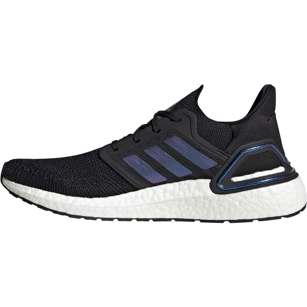adidas Ultraboost 20 Running Shoes Men core black boost blue violet metallic footwear white