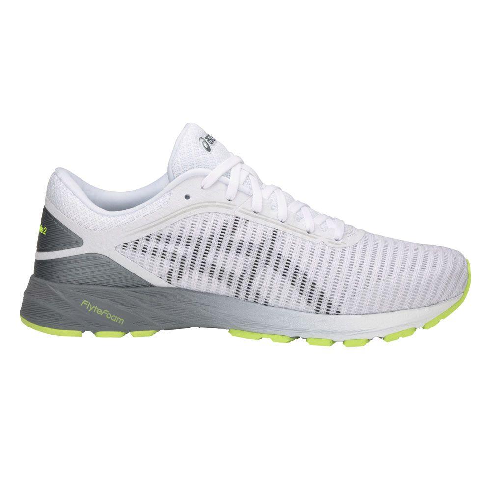 b2678a660e291 ASICS - Dynaflyte 2 running shoes men white black stone grey at ...