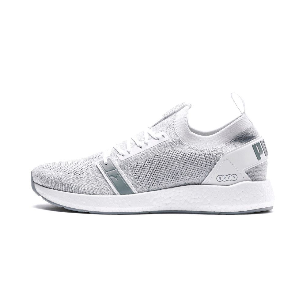 save off 4141f 47898 Puma - NRGY Neko Engineer Knit Running Shoes Men puma white quarry