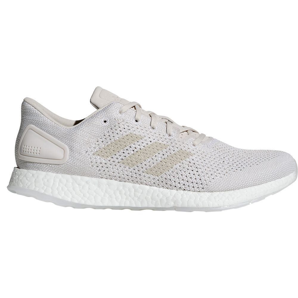 adidas Pure Boost DPR Running Shoes Men grey one chalk