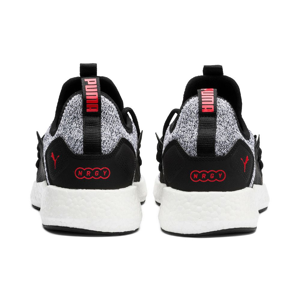 b34cafe5512 Puma - NRGY Neko Knit Running Shoes Men puma black high risk red at ...