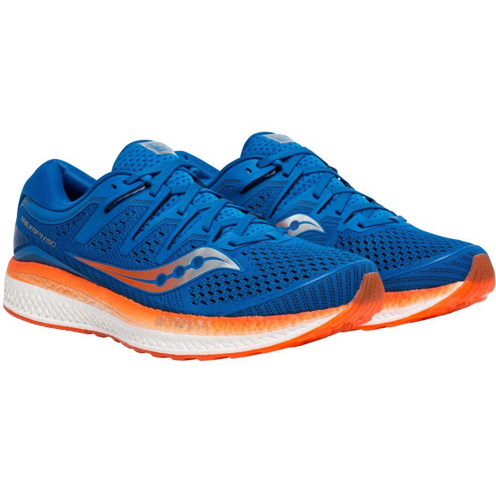 Saucony Triumph Iso 5 Laufschuhe Herren blau orange