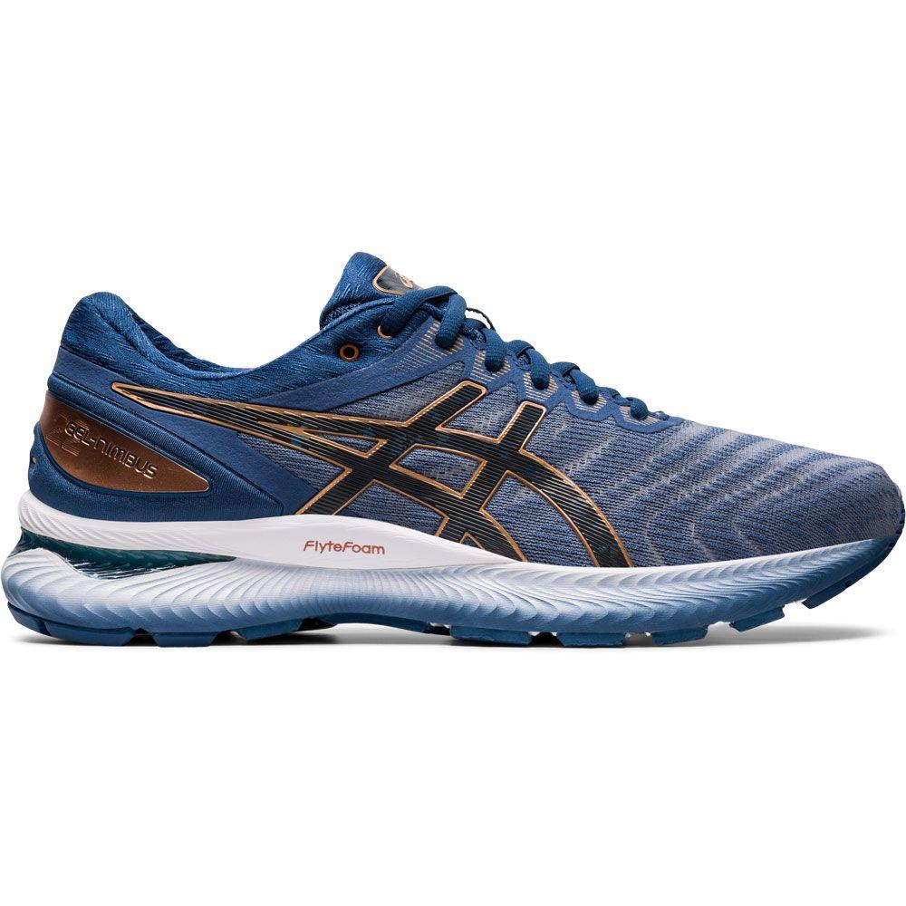 ASICS Gel Nimbus 22 Running Shoes Men glacier grey graphite grey