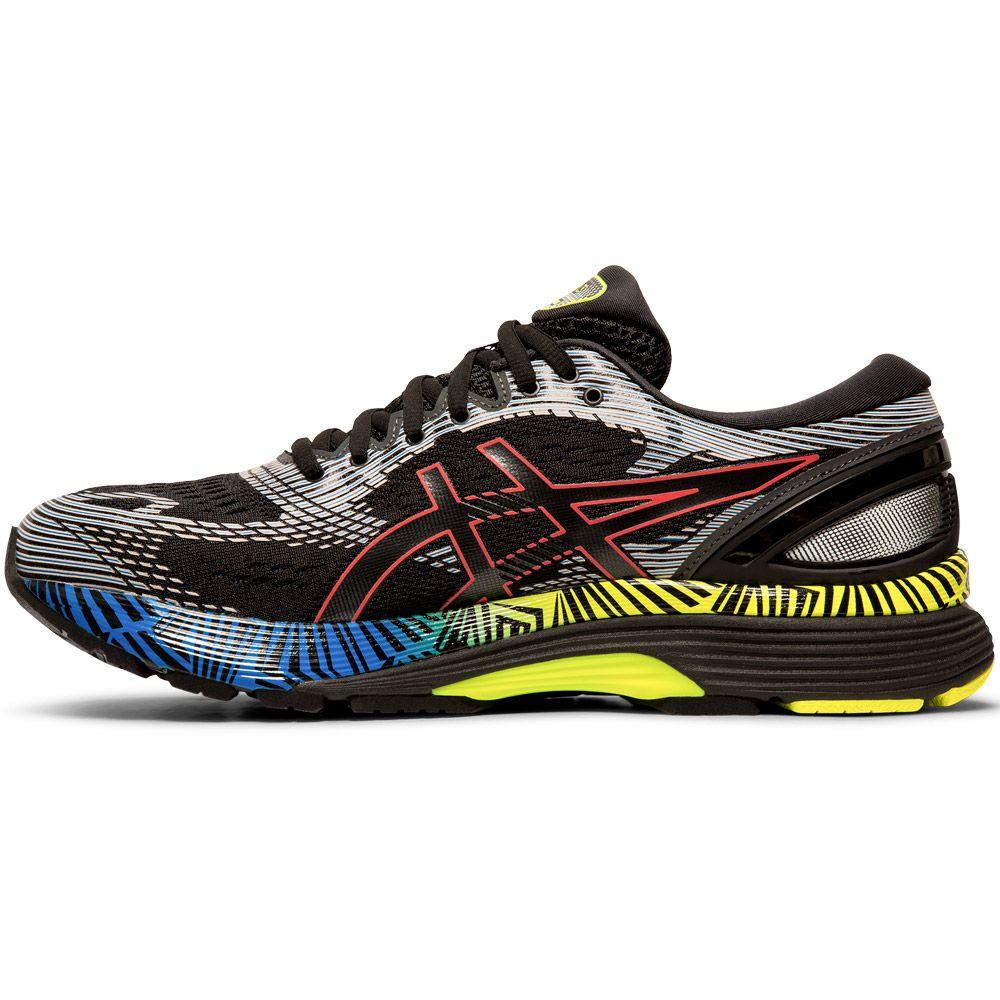 ASICS Gel Nimbus 21 Lite Show Running Shoes Men black electric blue