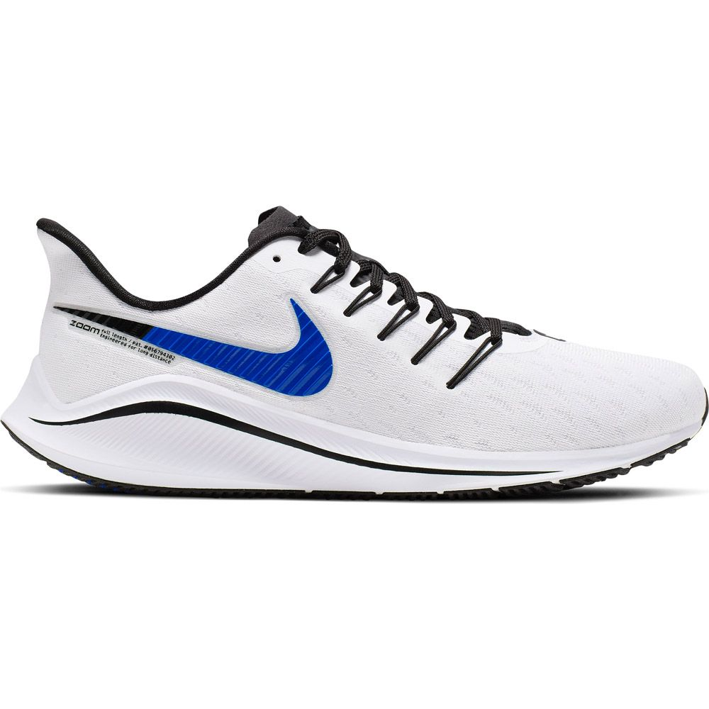 Disparidad techo insulto  Nike - Air Zoom Vomero 14 Running Shoes Men white racer blue platinum tint  at Sport Bittl Shop