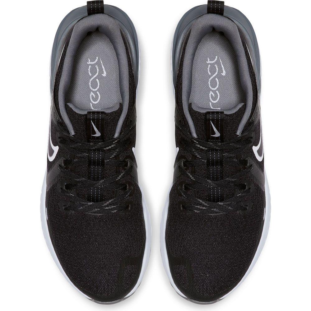React Herren Legend 2 black Laufschuh Nike grey white cool iwZluOkTXP