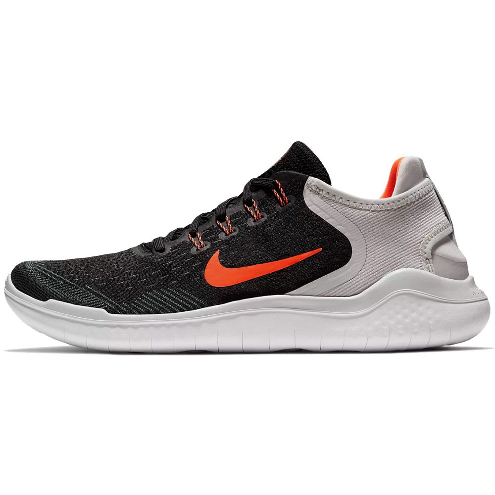 9cbad14a5755a Nike Free Run 2018 Running Shoes Men black vast grey white total crimson