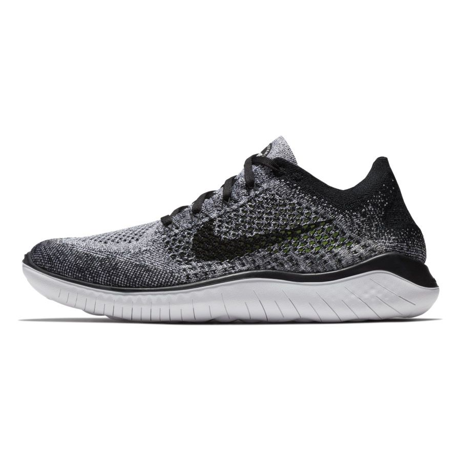 new product ff1cd 31817 Free RN Flyknit 2018 Running Shoes Men white black. Free RN Flyknit 2018 Running  Shoes Men white black. Nike