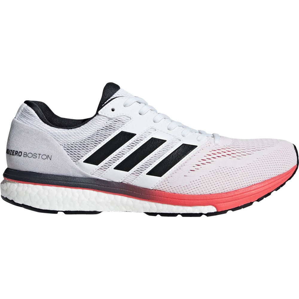 18fd72ae3e0b7 adidas Adizero Boston 7 Running Shoes Men footwear white carbon shock red