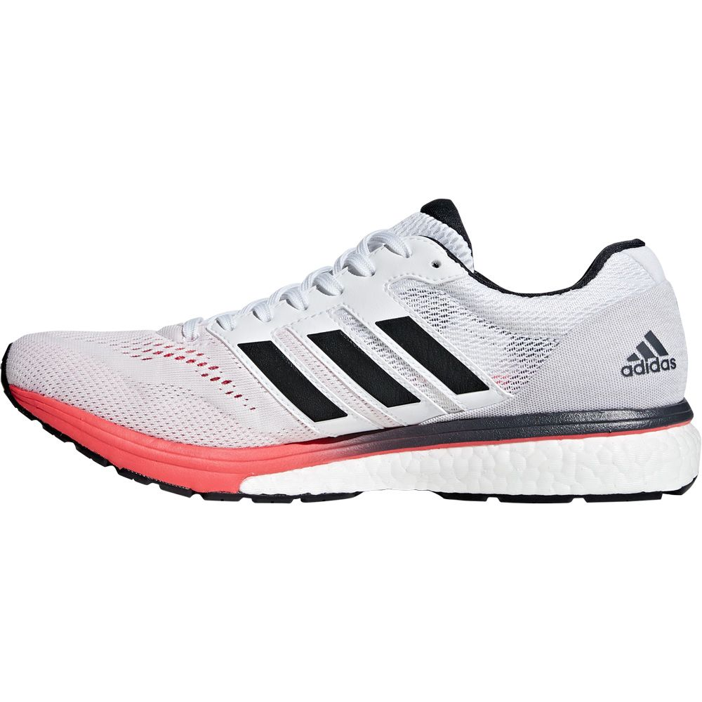 adidas - Adizero Boston 7 Laufschuhe Herren footwear white carbon shock red