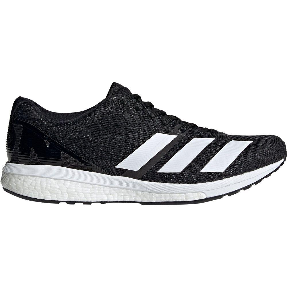 adidas Adizero Boston 8 Running Shoes Men core black footwear white grey six