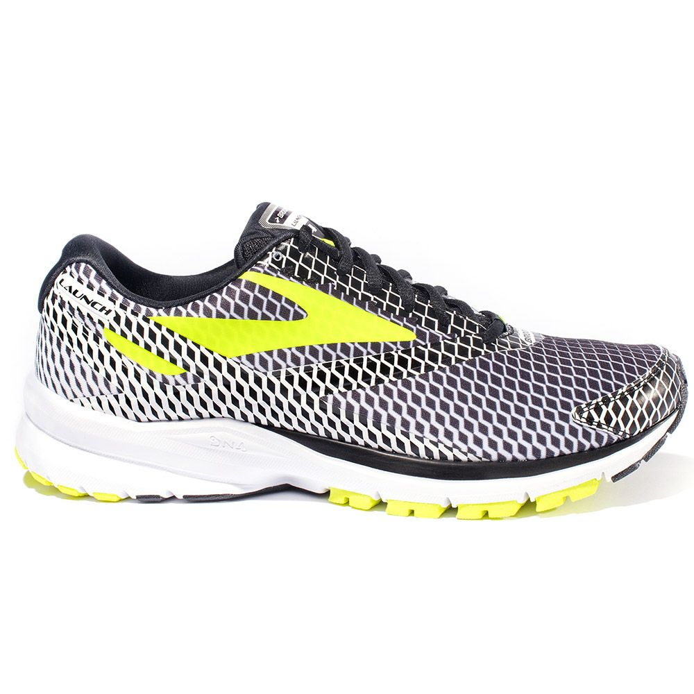 d10c1c7291f05 Brooks - Launch 4 Running Shoes Men black silver at Sport Bittl Shop