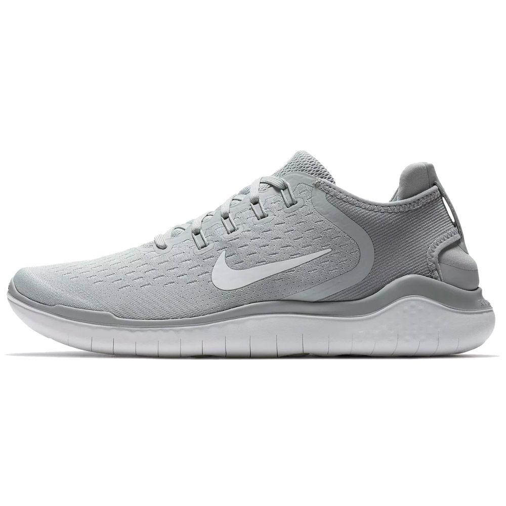 014624c24584c Nike - Free RN 2018 Running Shoes Men wolf grey volt white at Sport ...