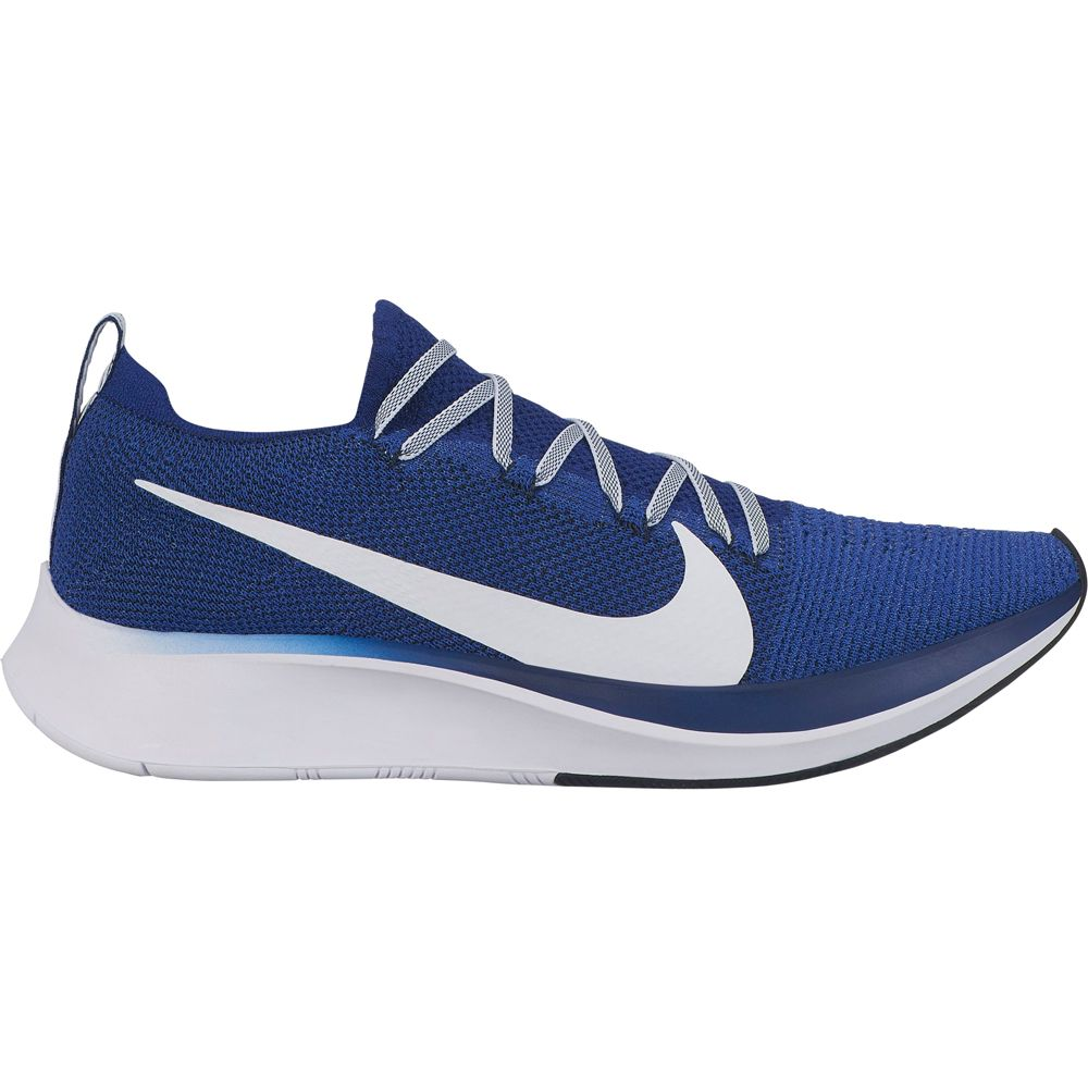ecdc4400f5503 Nike - Zoom Fly Flyknit Running Shoes Men deep royal white blue void ...